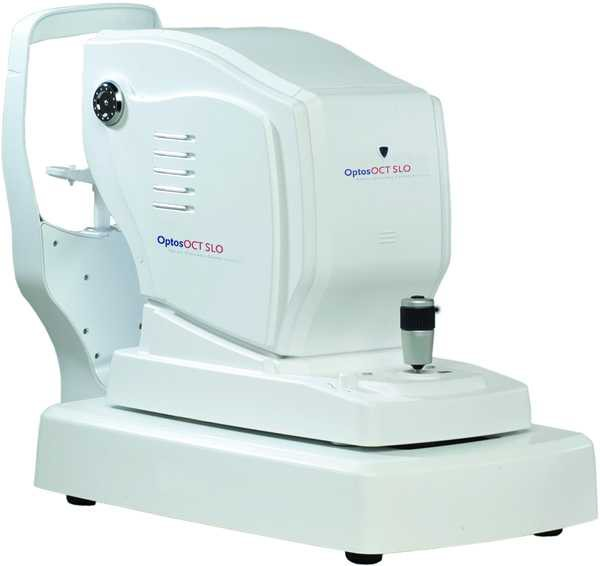 Optos OCT SLO Retina Glaucoma Cornea Analysis